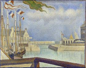 Georges Seurat: Sonntag in Port-en-Bessin