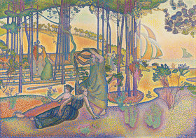 Henri Edmond Cross: Abendluft (L'Air du soir)