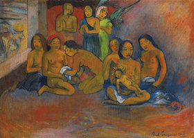 Paul Gauguin: Nativité