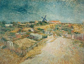 Vincent van Gogh: Gemüsegärten auf dem Montmartre
