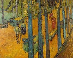 Vincent van Gogh: Die Alyscamps, Arles
