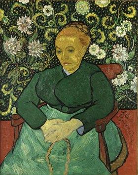 Vincent van Gogh: Frau an der Wiege (La Berceuse)