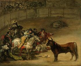 Francisco José de Goya: Stierkampf, Suerte de Varas