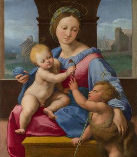 Raffael (Raffaello Sanzio): Madonna mit Kind und dem Johannesknaben