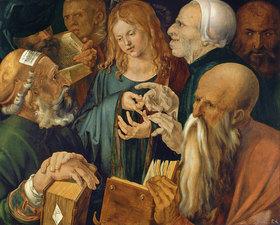 Albrecht Dürer: Jesus zwischen den Schriftgelehrten
