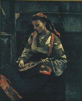 Jean-Baptiste Camille Corot: Italienerin mit Mandoline