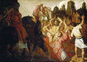Rembrandt van Rijn: Die Steinigung des hl.Stephan