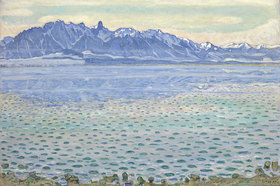Ferdinand Hodler: Thunersee mit Stockhornkette