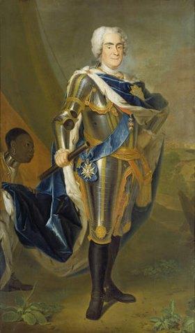 Louis Silvestre d.J.: August der Starke, König von Polen und Sachsen