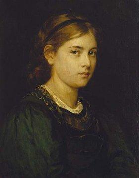 Franz von Defregger: Mädchenbildnis