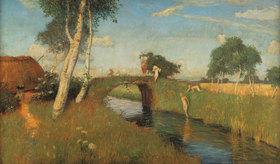 Otto Modersohn: Sommer am Moorkanal