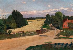 Otto Modersohn: Felder im Sommer