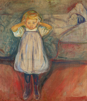 Edvard Munch: Die tote Mutter
