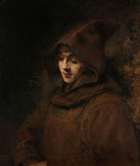 Rembrandt van Rijn: Rembrandts Sohn Titus im Franziskanerhabit