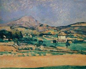 Paul Cézanne: Blick zum Montagne Sainte-Victoire