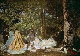 Claude Monet: Das Frühstück im Grünen