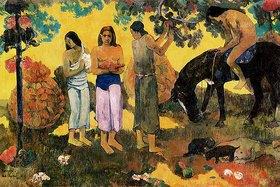 Paul Gauguin: RUPE RUPE (Die Obstpflücker)