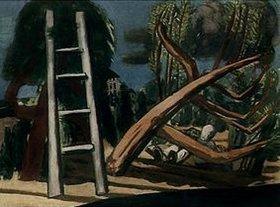 Max Beckmann: Landschaft mit Holzfällern