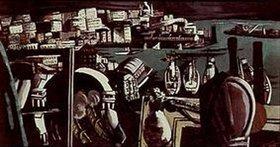 Max Beckmann: Der Hafen von Genua