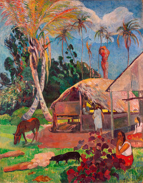 Paul Gauguin: Die schwarzen Schweine