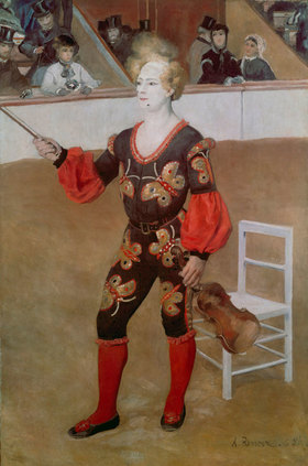 Auguste Renoir: Der Clown