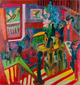 Ernst Ludwig Kirchner: Atelierecke