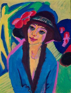 Ernst Ludwig Kirchner: Bildnis Gerda
