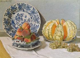 Claude Monet: Stillleben mit Melone