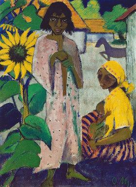 Otto Müller: Zigeuner und Sonnenblumen