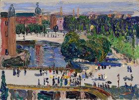 Wassily Kandinsky: Amsterdam - Blick aus dem Fenster