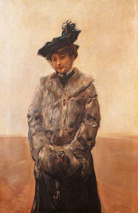 Max Slevogt: Bildnis einer Dame