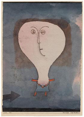 Paul Klee: Schreck eines Mädchens