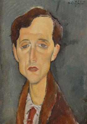 Amadeo Modigliani: Porträt von Franz Hellens (1881-1972)