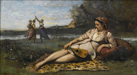 Jean-Baptiste Camille Corot: Junge Frauen aus Sparta