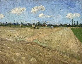 Vincent van Gogh: Gepflügter Acker
