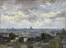 Vincent van Gogh: Blick auf Paris