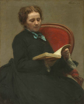 Henri de Fantin-Latour: Porträt von Victoria Dubourg