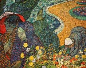 Vincent van Gogh: Die Frauen von Arles (Erinnerung an den Garten in Etten). 1888