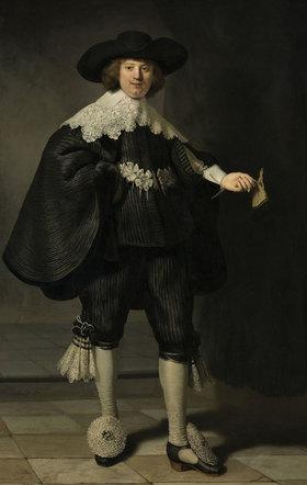 Rembrandt van Rijn: Portrait von Marten Soolmans