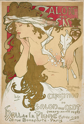 Alfons Mucha: Salon des Cent
