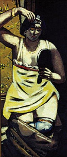 Max Beckmann: Die Zigeunerin