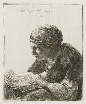 Rembrandt van Rijn: Lesende
