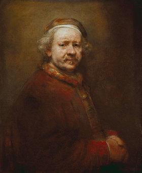 Rembrandt van Rijn: Selbstbildnis im Alter von 63 Jahren