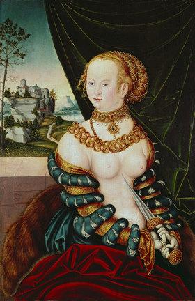 Lucas Cranach d.Ä.: Tod der Lucretia