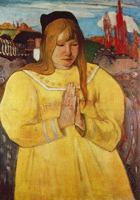Paul Gauguin: Bretonisches Mädchen