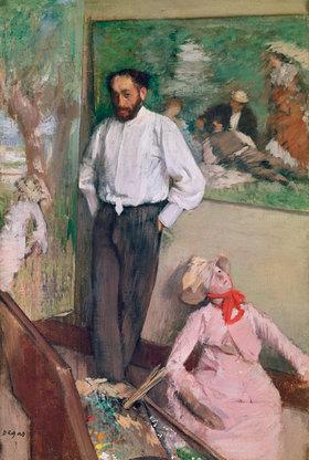 Edgar Degas: L'Homme et le pantin (Der Mann und der Hampelmann)