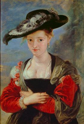Peter Paul Rubens: Bildnis von Susanna Lunden(?). Wohl