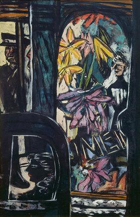Max Beckmann: Vor dem Hotel