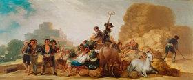 Francisco José de Goya: La Era o El Verano (Die Tenne oder Der Sommer)