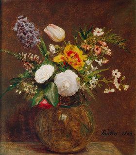 Henri de Fantin-Latour: Blumenstilleben